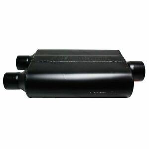 Flowmaster Muffler Super 44 Series 3 Inlet dual 2 5 Outlet Steel Black 9430472