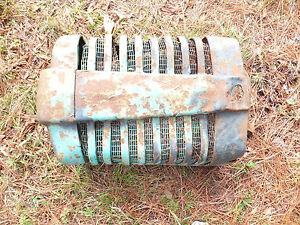 John Deere M Tractor Part Front Grille Assembly With Screens Nose Cone