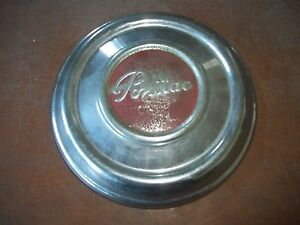 Pontiac Hubcap Rim Wheel Cover Lug Center Hub Cap Oem Used Poverty Dog Dish 10