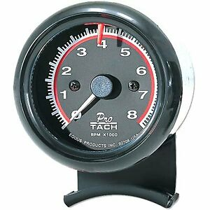 Equus Tachometer 0 8000 Rpm 2 1 2 Analog Electrical Ea 6086