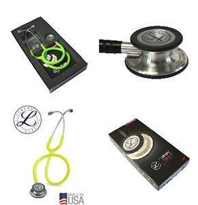 3m Littmann Classic Iii Stethoscope 23 New Cool Color Choices New Free Gift