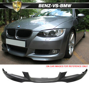 Fits 07 10 Bmw E92 E93 Only 3 Series Front Bumper Lip Spoiler Bodykit Pp