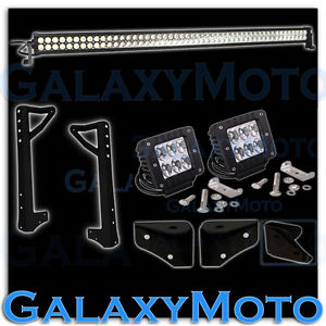 50 Led Light Bar led windshield Mount Brackets For 07 17 Jeep Jk Wrangler