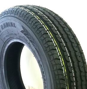 4 New Trailer King Radial St 205 75 15 2057515 8 Ply D Load Tire Tires