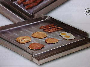 Make a griddle 24 Commercial Steel Griddle grill Plate 4 Burner Stovetop