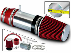 Bcp Red 2003 2004 2005 2006 2007 Honda Accord Lx Ex 3 0l V6 Short Ram Air Intake