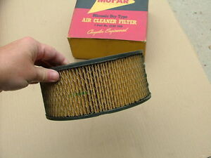 1957 58 Mopar Air Cleaner Element Nos Dodge Plymouth Desoto
