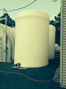 2 Storage Tanks 8 000 Gallon