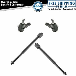 Tie Rod End Front Inside Inner Outside Outer Set Kit Of 4 For Avalon Camry Es300