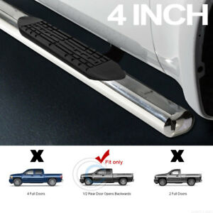4 Ss Chrome Side Step Nerf Bars Running Boards 99 18 Silverado Sierra Extended