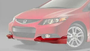 Any Color Oem Honda Civic 2dr Coupe Front Under Body Spoiler Kit 2012 2013