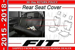 Genuine Oem Honda Fit Rear Seat Cover 2015 2018 08p32 T5a 110
