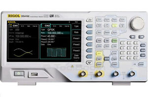 Rigol Dg4102 2 channel Arbitrary Waveform Function Generator 100mhz 500ms s 16kb