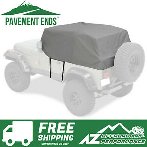 Pavement Ends Canopy Cab Cover Fits 1992 1995 Jeep Wrangler Yj Charcoal
