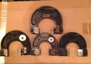 Lot Of 4 Snap Gages rb26