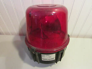 Turk Alert Signaling Devices Ta47rn5 Red 360 Rotating Beacon