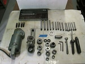 Ko Lee Valve Reseater Set R504 With Power Driver 12 Cutting Tools 15 Pilots