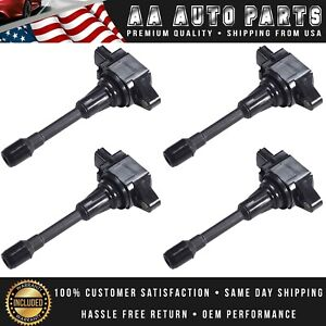 4pc Ignition Coil For Nissan Altima Sentra Cube Rogue Versa Infiniti Fx50 Uf549