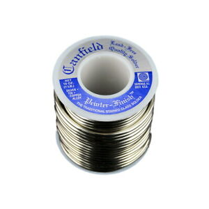 Canfield Lead Free Pewter Finish Solder