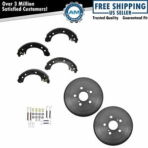 Brake Shoe Drum Hardware Rear Kit Set For 03 08 Toyota Corolla