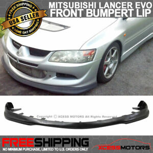 Fits 03 05 Evo 8 Do Luck Style Front Bumper Lip Pu