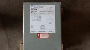 Culter hammer Dry Type Distribution Transformer S48d11s05n