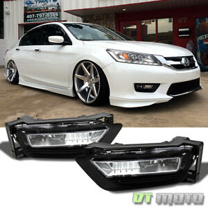 For 2013 2015 Honda Accord Sedan 4dr Replacement Fog Lights switch Left right