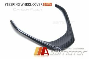 Carbon Fiber Steering Wheel Cover Trim For Bmw F30 F31 F32 F33 F34 F20 F22 Non m