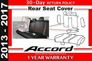 Genuine Oem Honda Accord 4dr Sedan Rear Seat Cover 2013 2017 08p32 T2a 110