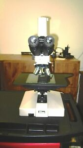 Nikon Optiphot 66 Metallurgical industrial Microscope bright dark Field