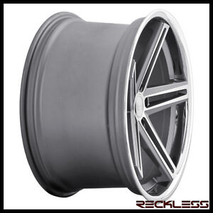 20 Concept One Cs55 Gunmetal Staggered Concave Wheels Rims Lexus Ls400 Ls430