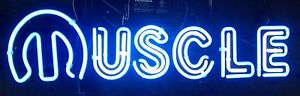 Muscle Car Neon Bar Light Sign