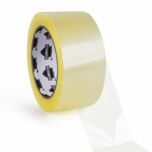 36 Rolls Carton Sealing Clear Packing Tape Box Shipping 1 75 Mil 2 X 110 Yards