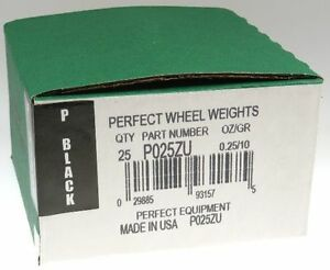 25 .25 ounce 1 4 oz P Style Wheel weight USA MADE Perfect Equipment $7.77