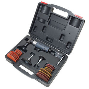 Ingersoll Rand 302bk Composite Angle Die Grinder Kit With Blow Molded Case