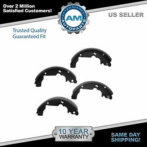 Nakamoto Brake Shoes Rear For Chevy Equinox Pontiac Aztek Torrent Saturn Vue