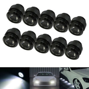 Xenon White 30w High Power Flexible Led Daytime Running Lights puddle Lamps Kit