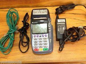 Verifone Vx570 Credit Card Processor Model Omni 5700