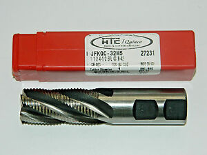 1 Dia M42 Cobalt 5 Flute Roughing End Mill Fine Pitch 27231 U s a A12