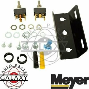 New Meyer Snow Plow E47 Lift And Angle Toggle Switch Kit W Plate