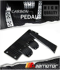 Carbon Fiber Manual Mt Pedal Set Footrest For Bmw E30 E34 E36 E38 X3 X5 Z3