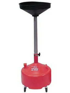 John Dow 8 gallon Portable Poly Oil Drain Jdi 8dcp