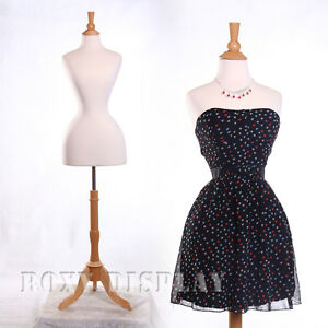 Female Jersey Form Mannequin Manequin Manikin Dress Form fh01w bs 01nx
