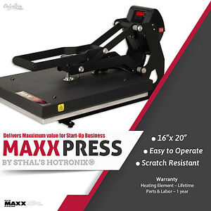 Stahls Hotronix Maxx Clam High Pressure Heat Press 16 X 20 Free Fedex Ground
