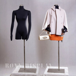 Female Mannequin Manequin Manikin With Flexible Arms Dress Form f02sarm bs 05