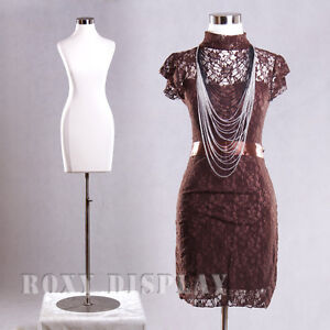 Female Jersey Form Mannequin Manequin Manikin Dress Form f01c bs 04