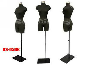 Female Mannequin Manequin Manikin Dress Form f2blg bs 05bk