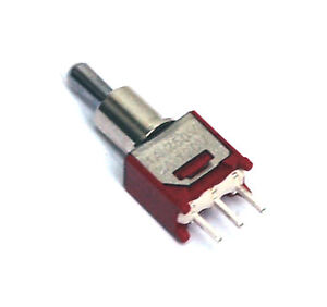 100pc Sub miniature Toggle Switch 2ms3t2b2m2qes On off on 3p Spdt Ul Dailywell