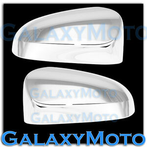 2012 2014 Toyota Yaris Triple Chrome Mirror Without Turn Signal Cover Trim Bezel