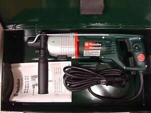 Metabo Brand New Genuine Bhe6015 S R l Sds plus 3 4 Rotary Hammer Drill